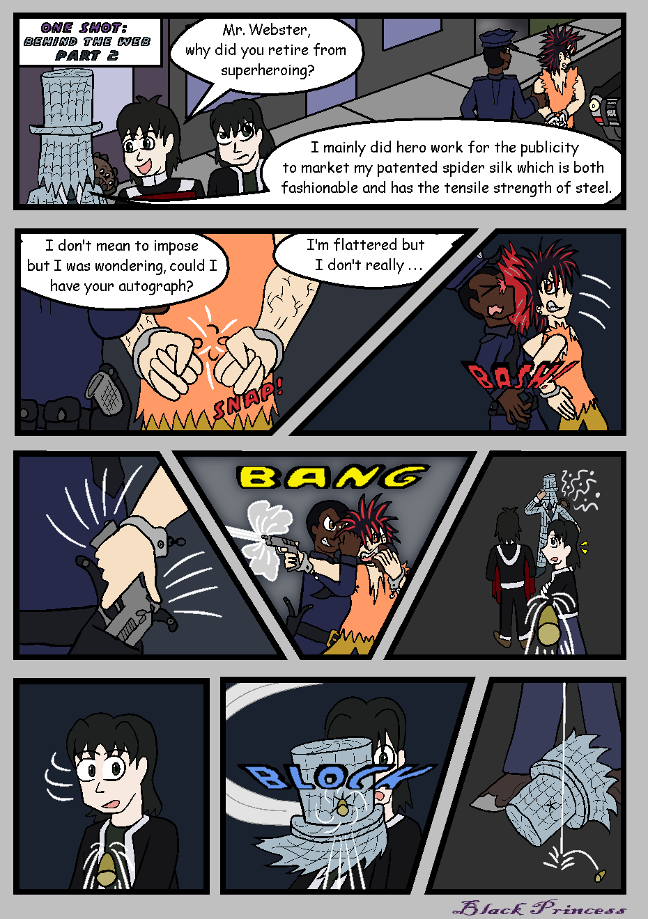 Filler: Behind the Web, Page 2