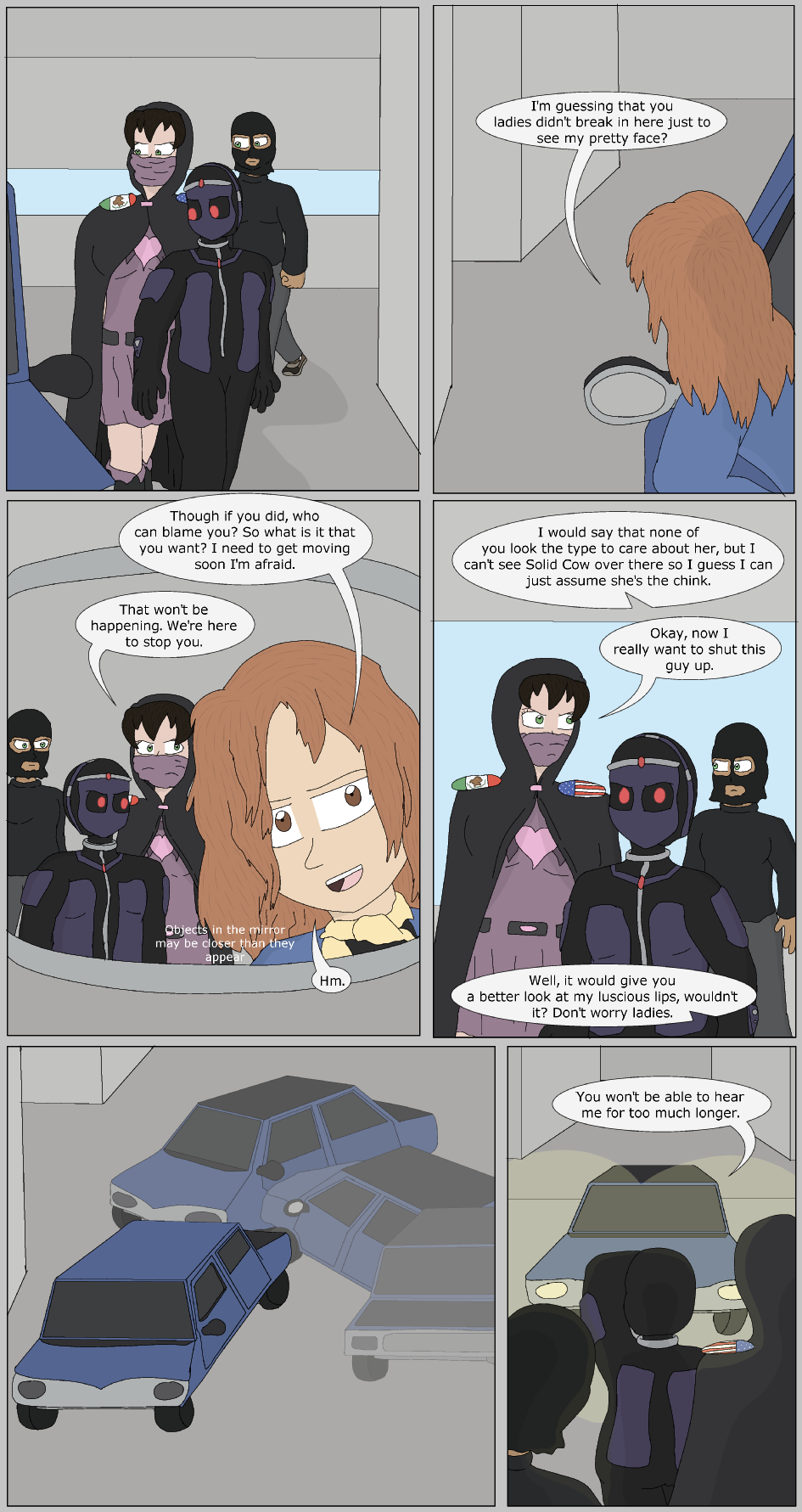 The Fast Life, Page 9