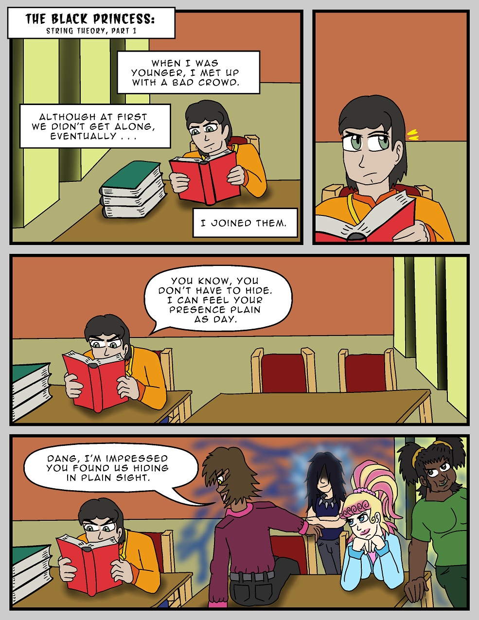 String Theory, Page 1
